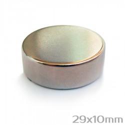 Неодимовый магнит 29x10 мм N38