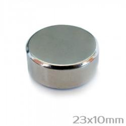 Неодимовый магнит 23x10 мм N35