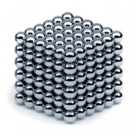 Neocube 5 mm hroms
