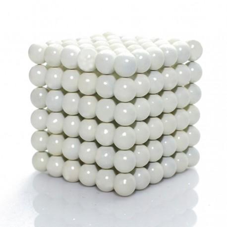 Neocube 5 mm baltais