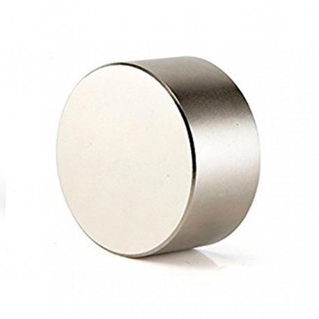 Неодимовый магнит 25x10мм N35