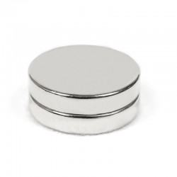 Neodīma magnēts 25x5mm  N42 - 2 gb.