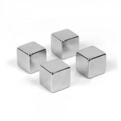 """Неодимовый магнит """"Куб"""" 10x10x10 мм N52 - 4 шт."""