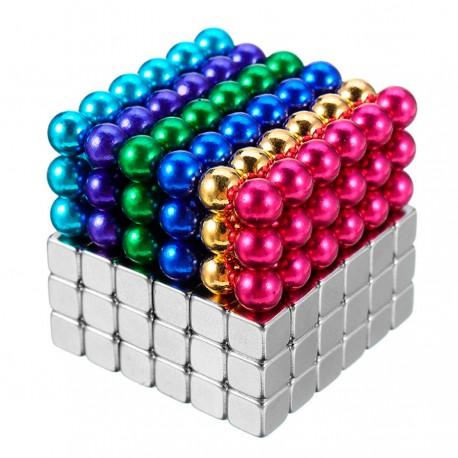 Neocube 5 mm sešās krāsās + Tetracube 5 мм