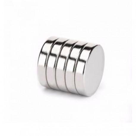 Неодимовый магнит 20x4 мм N35 - 5 шт.