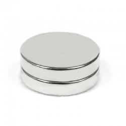 Неодимовый магнит 25x5мм N35 - 2 шт.