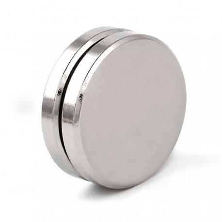 Неодимовый магнит 30x5мм N35 - 2 шт.