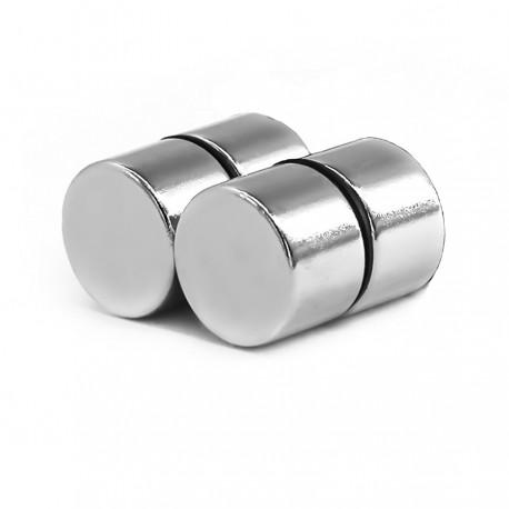 Неодимовый магнит 15x10мм N35 - 4 шт.