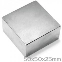 Неодимовый магнит 50x50x25 мм N42