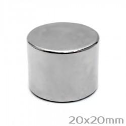 Неодимовый магнит 20x20 мм N38