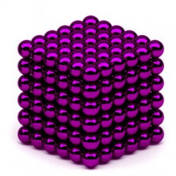 Neocube 5 mm purpurs