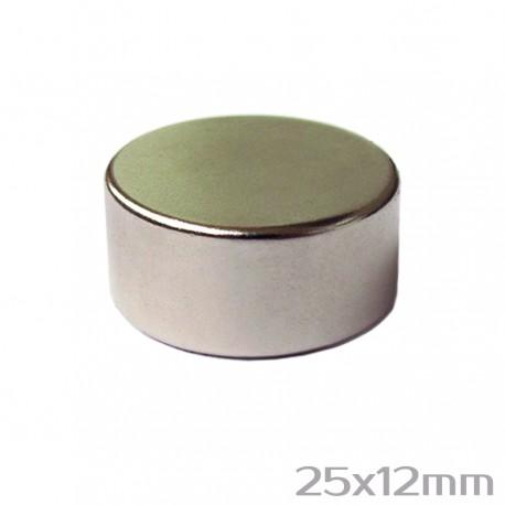 Неодимовый магнит 25x12 мм N38