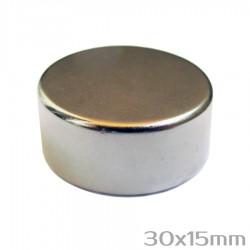 Неодимовый магнит 30x15 мм N35